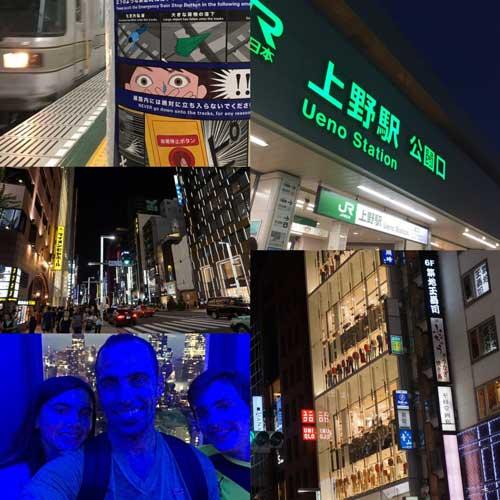 Viaje a Japon con los Chicos