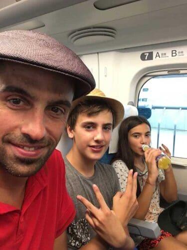 Saliendo de Tokio con los Niños