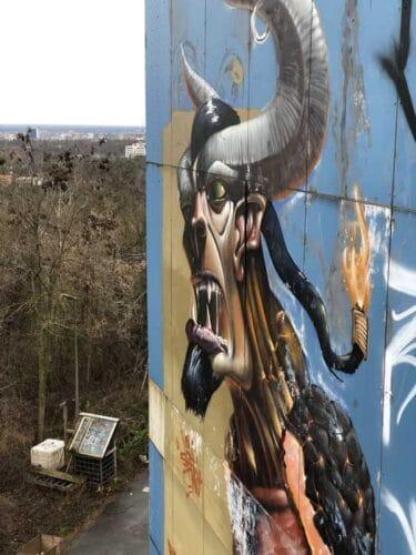 Lugares abandonados en Berlin: Teufelsberg