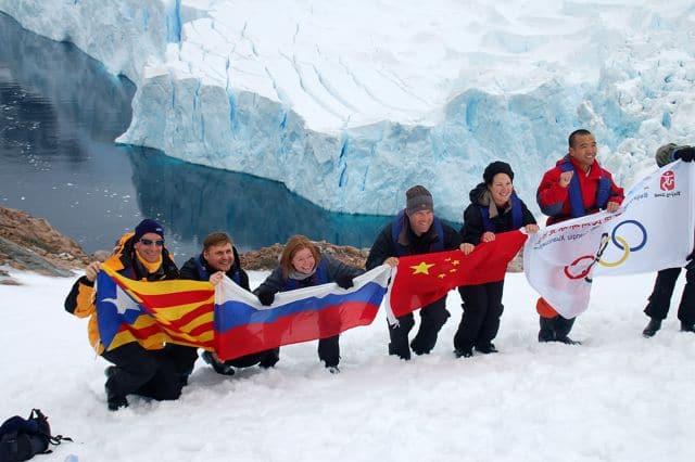 Grupo pequeño de viaje a la Antartida