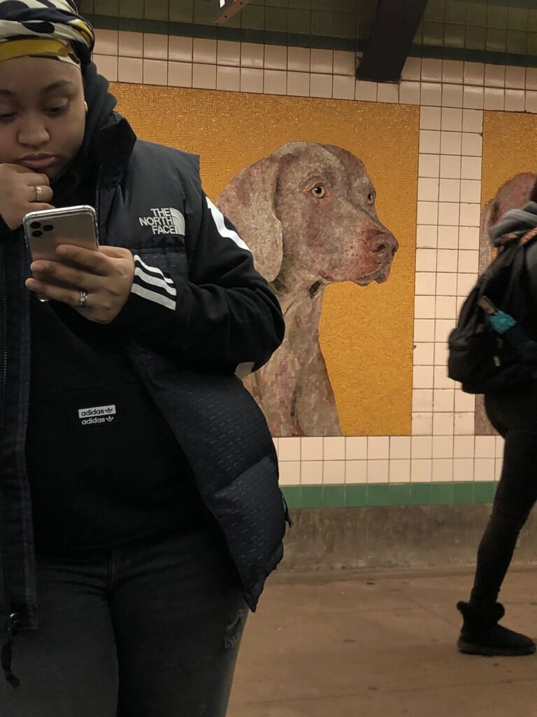 Mujer en Brooklyn