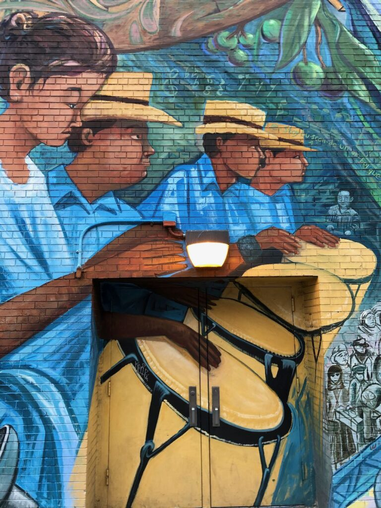 Mural de los Sures en Williamsburg