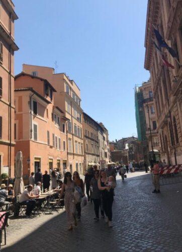 Las calles de Trastevere