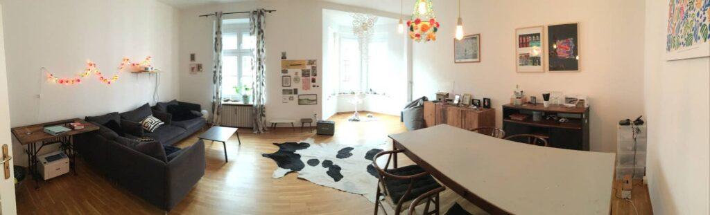 Alquiler departamento grande en el centro de Múnich