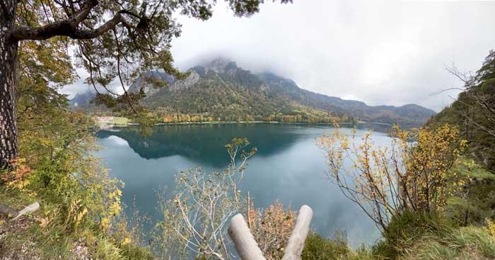El Alpsee (Lago los Alpes)