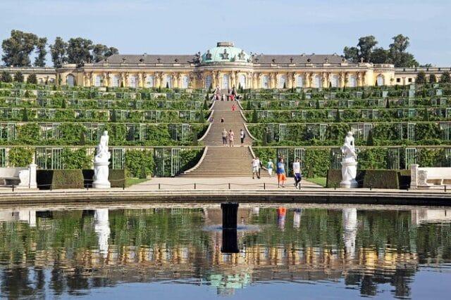 El parque y palacio de Sanssouci