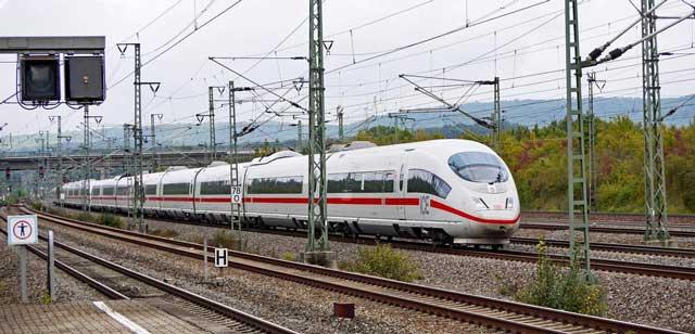 ICE del Deutsche Bahn