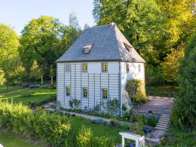 Goethes_Gartenhaus: Casa de verano de Goethe