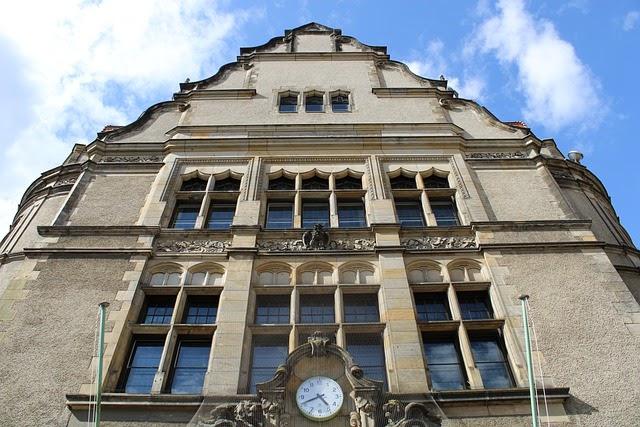 Foto de la plaza del ayuntamiento de Neukölln