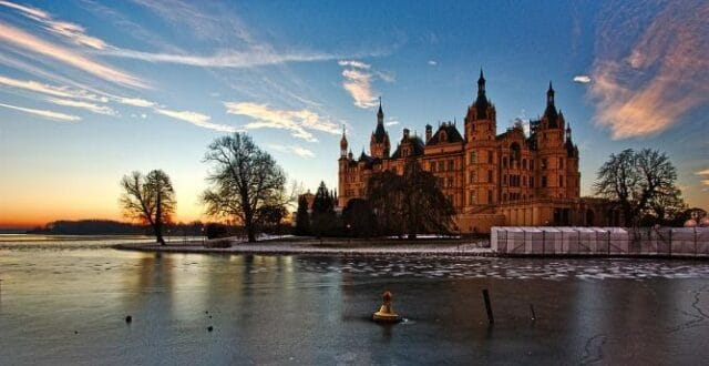 4.El castillo de Schwerin