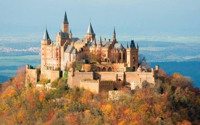 5.El castillo de Hohenzollern