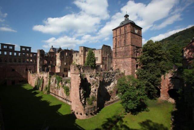 9.El castillo de Heidelberg