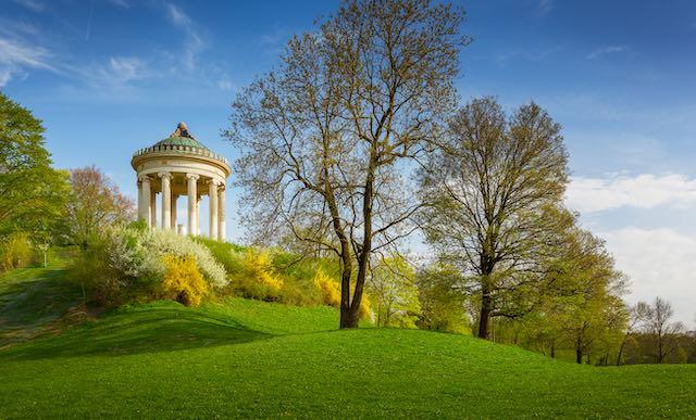 Jardin ingles en Munich