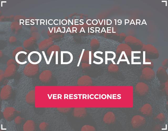 Restricciones COVID en Israel