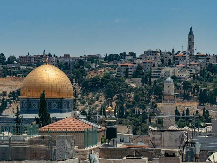 como ir de tel aviv a jerusalem
