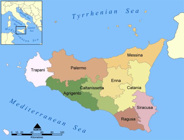Region de Sicilia