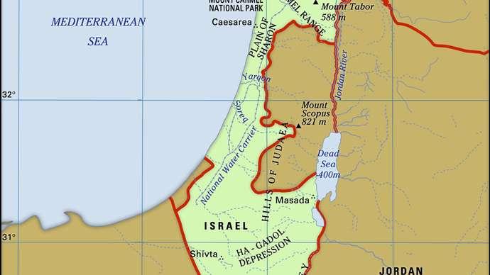 Donde está Israel