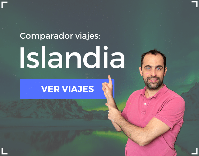 Comparador viajes Islandia