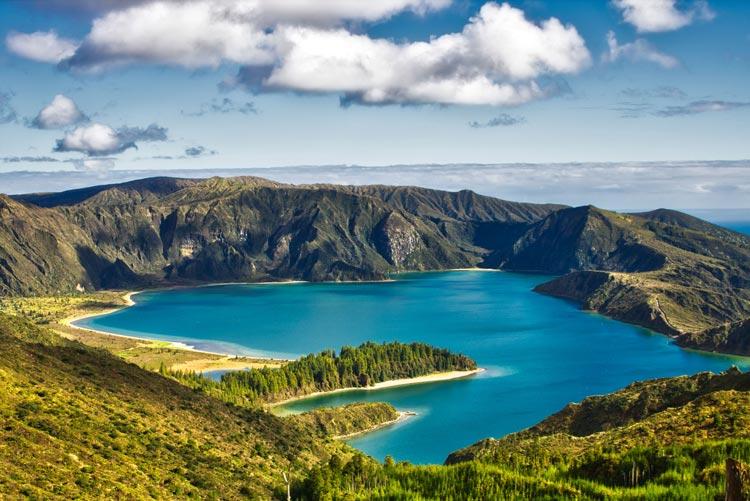 donde están las Azores.