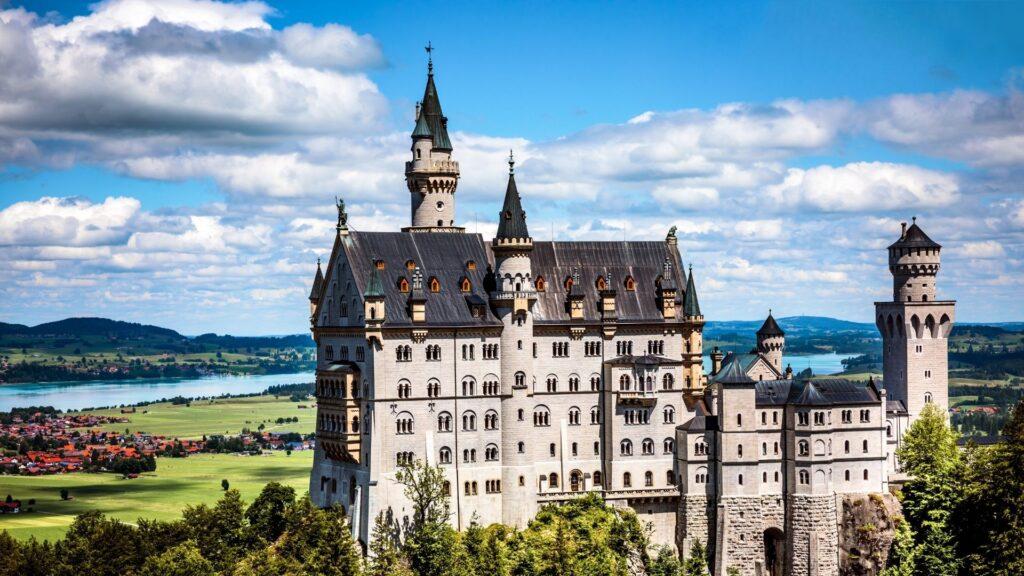 """El castillo de Neuschwanstein """"Nuevo Cisne de Piedra"""""""
