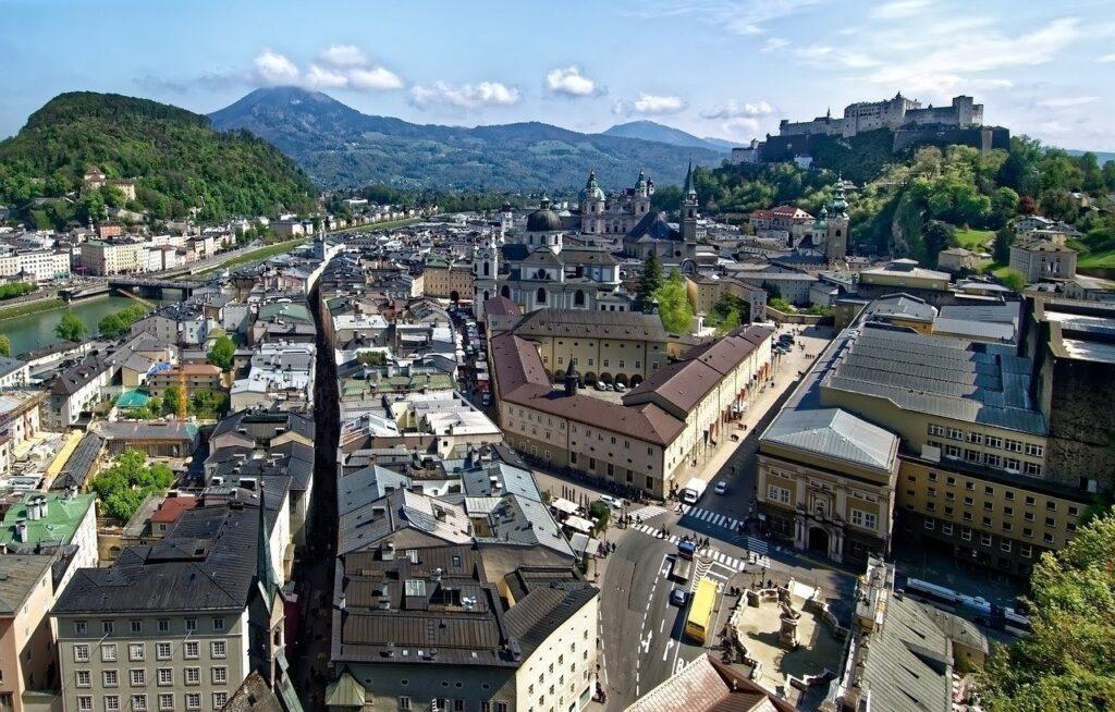 Salzburgo en Austria